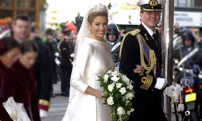 El vestido de novia de Máxima, una impresionante pieza de museo: dónde y cuándo verlo