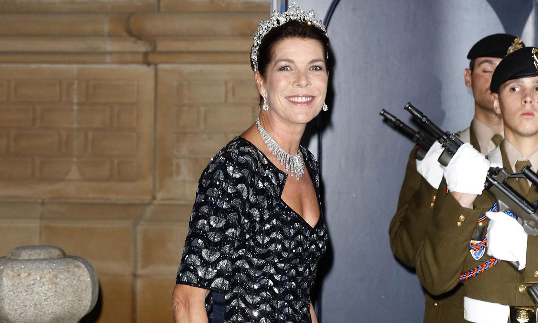 Carolina de Mónaco, un icono de estilo que hace historia con sus looks de gala