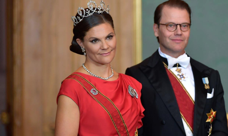 Victoria de Suecia recupera diez años después el vestido de la preboda de Guillermo y Kate