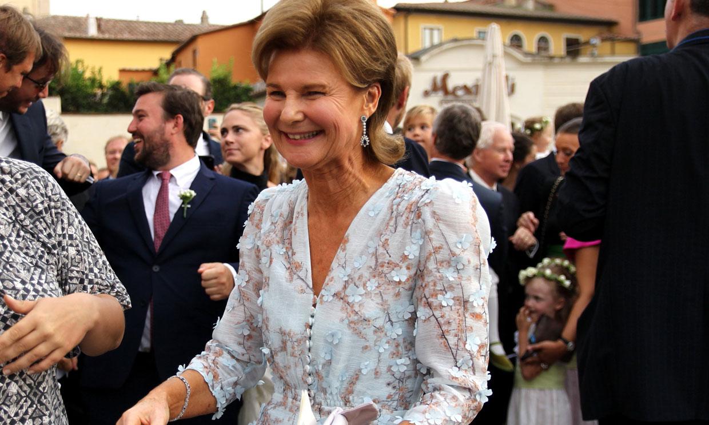 Margarita de Luxemburgo, deslumbrante en la boda de su hija María Astrid de Liechtenstein