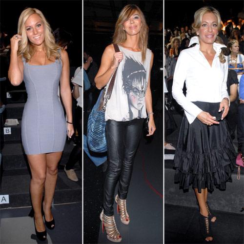 Elena Tablada, Nieves Álvarez, Nuria March, Carmen Lomana… toman nota de la moda que viene en Cibeles Madrid Fashion Week
