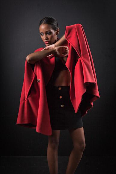 'Conviértete en estilista': rojo carmín