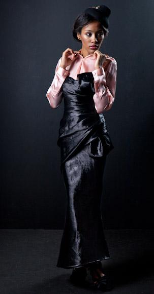 'Conviértete en estilista': dramatismo para la noche