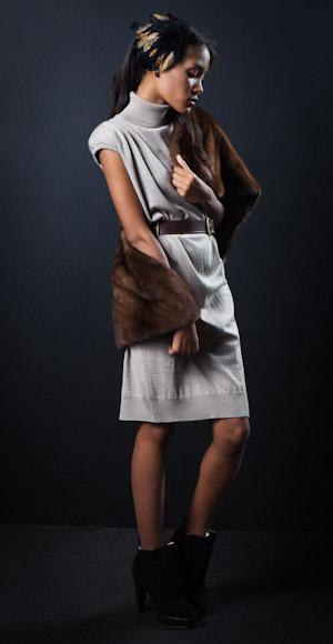 'Conviértete en estilista': vestido de punto