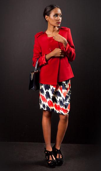 'Conviértete en estilista': otoño rojo