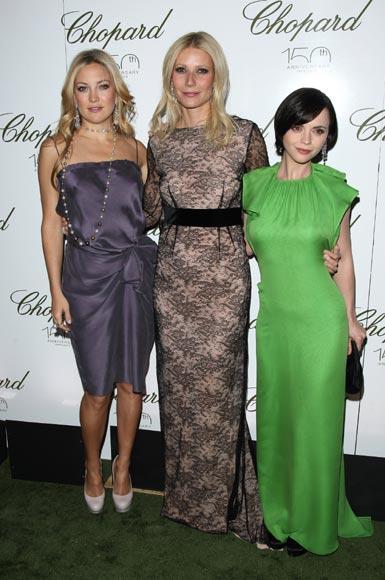Kate Hudson, Gwyneth Paltrow, Christina Ricci, Claire Danes... celebran el 150º aniversario de la firma Chopard