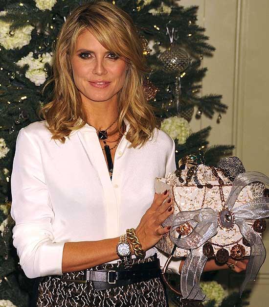 Heidi Klum nos desvela sus regalos perfectos para esta Navidad
