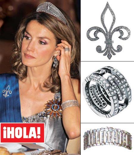 El joyero de la princesa Letizia