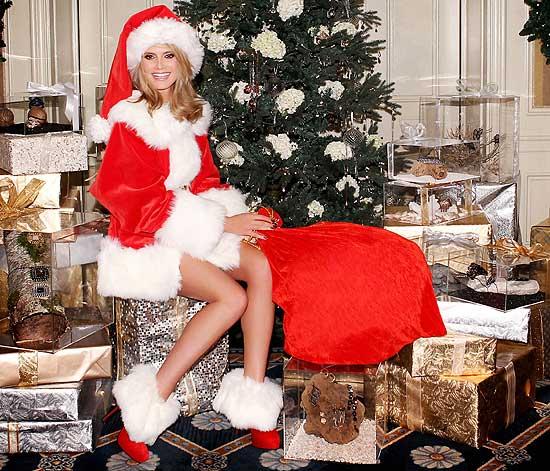 ¿Sabes qué modelo podría descender por tu chimenea con tu regalo de Navidad?