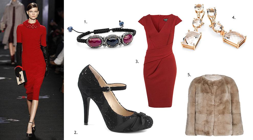 Zapatos para vestido largo de fiesta negro