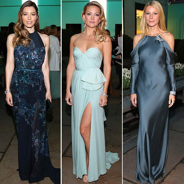 Las 'celebrities', seducidas por el brillo de las joyas de Tiffany & Co. en su 'Blue Book Ball'