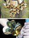 Joyas de pasarela: Piezas florales para la primavera-verano 2013