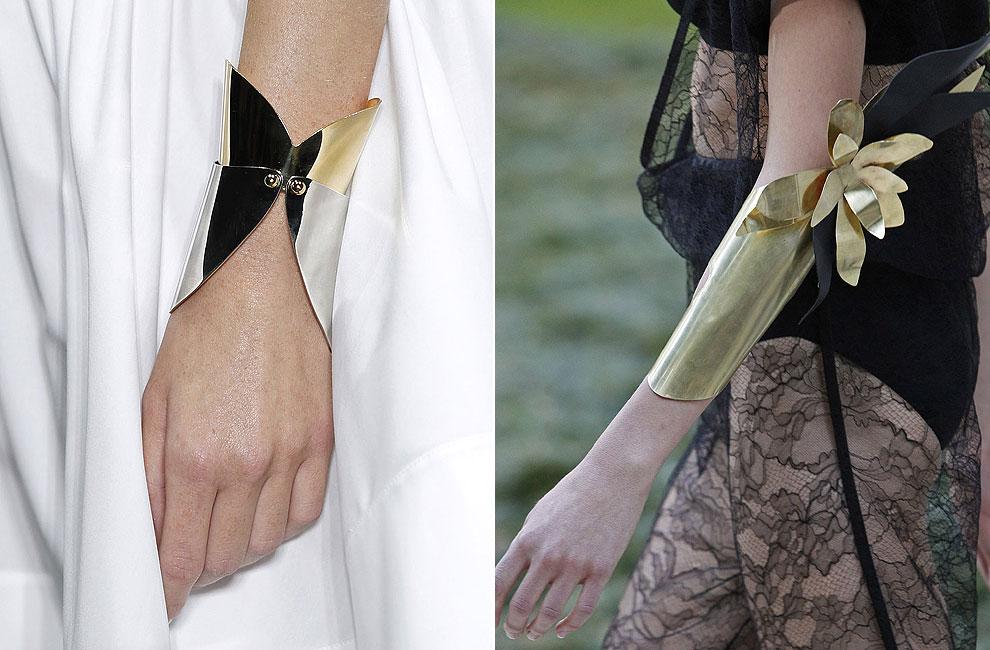 Joyas de pasarela dise os lisos en metales nobles para for Disenos de joyas en oro