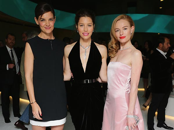 Actrices y modelos, de fiesta en el Guggenheim de Nueva York