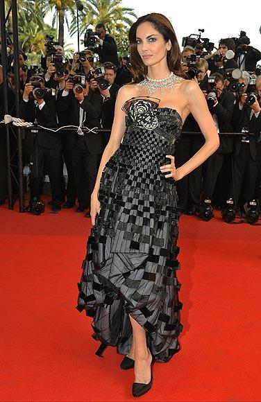 Eugenia Silva, una 'top' española en la alfombra roja de Cannes