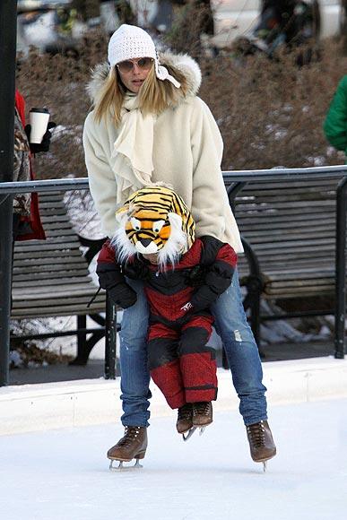 Heidi Klum y Valeria Mazza viven la Navidad de forma muy diferente