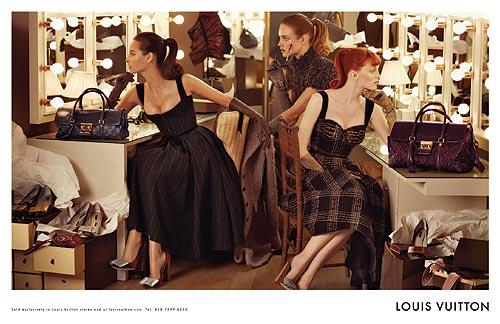 Tres generaciones de 'top models', reunidas en la nueva campaña de Louis Vuitton