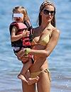 Alessandra Ambrosio, aventuras y risas durante sus vacaciones en Maui junto a su familia
