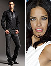Adriana Lima y Clint Mauro, una pareja de 'tops' que triunfa
