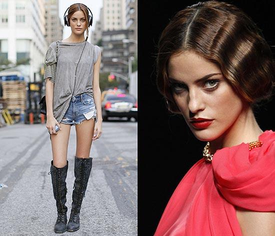 Alejandra Alonso, 'the best': elegida 'modelo revelación' de 2011