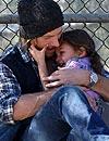 Gabriel Aubry muestra su lado más tierno junto a su hija, Nahla