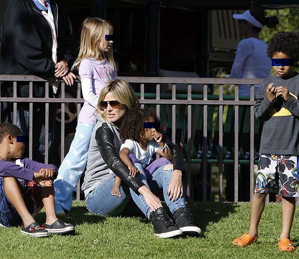 ¿Cómo vive Heidi Klum su divorcio con el cantante Seal?