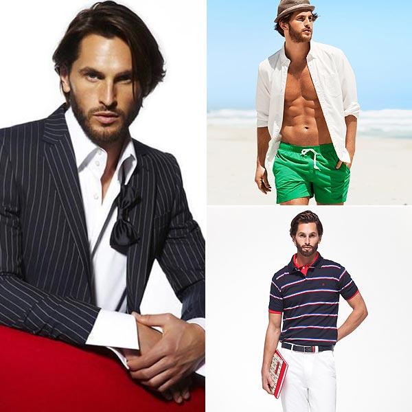 Jake Davies, el modelo de este verano de 2012