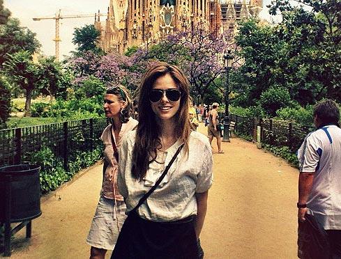 ¿Sabes en qué ciudad española ha estado Coco Rocha la semana pasada?