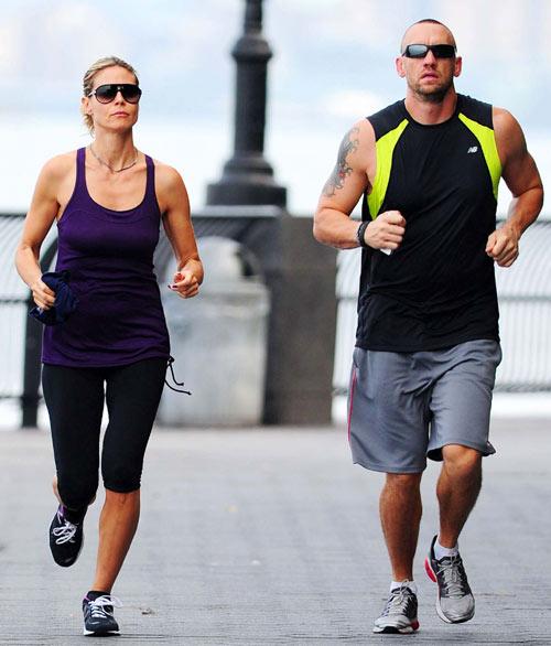 Heidi Klum confirma la relación con su guardaespaldas