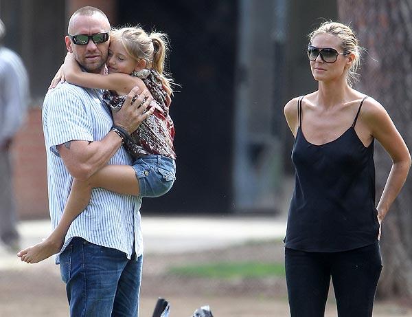 Heidi Klum, divertido día en familia… junto a su nuevo novio, Martin Kristen