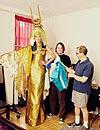 Heidi Klum desvela las primeras imágenes de su disfraz para su fiesta de Halloween 2012