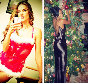 ¿Cómo han celebrado las fiestas navideñas los modelos más cotizados?