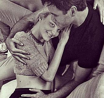 La 'top model' Caroline Trentini, embarazada de su primer hijo