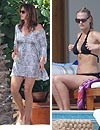 Cindy Crawford y Molly Sims prefieren Cabo San Lucas para estar de vacaciones