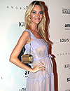 Caroline Trentini ya luce 'tripita' de embarazada