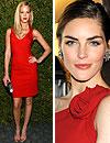 Modelos con estilo: Erin Heatherton, Irina Shayk, Jessica Hart y Hilary Rhoda, mujeres de rojo