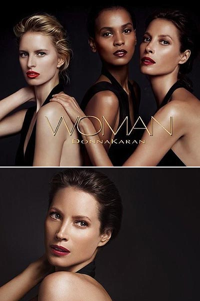 Christy Turlington, imagen de Donna Karan