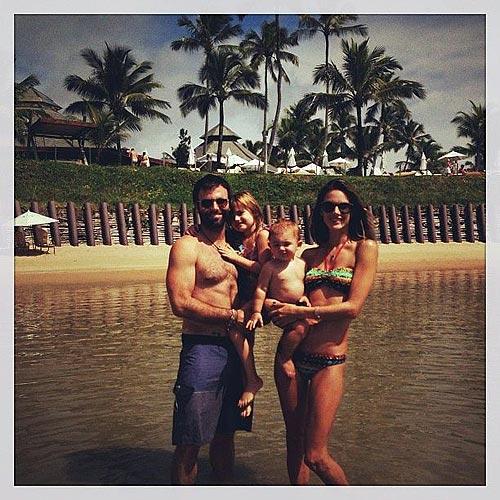 Alessandra Ambrosio, vacaciones familiares en Brasil