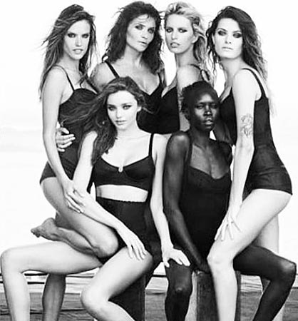 Miranda Kerr, Alessandra Ambrosio, Helena Christensen… Festejan el 50º aniversario del Calendario Pirelli