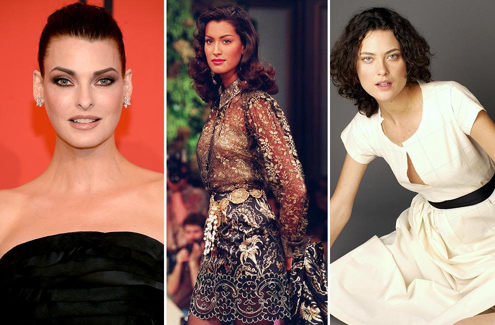 Especial modelos canadienses: Linda Evangelista, Coco Rocha, Gabriel Aubry, Robert Perovich, Shalom Harlow... ¿Quién es quién?