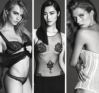Cara Delevingne, Malgosia Bela y Liu Wen, las más 'sexys' de la próxima temporada