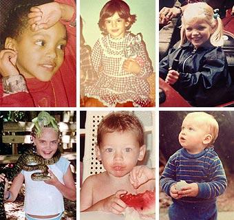 Todos hemos sido niños: ¿Qué modelos aparecen en estas fotografías tomadas en su infancia?