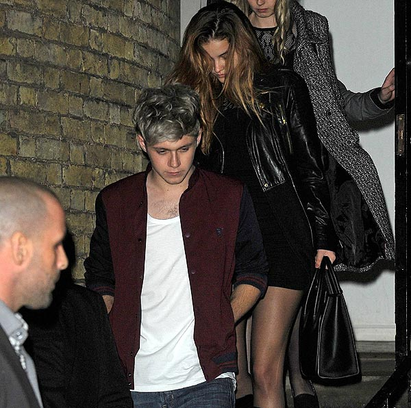 Barbara Palvin y el cantante Niall Horan, de One Direction, ¿novios?