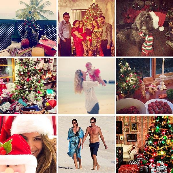 Modelos y Navidad: ¿Cómo han celebrado estas fiestas?