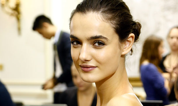 """Blanca Padilla, 'mejor modelo' de MBFWM: """"Creo que gusta mi belleza clásica"""""""