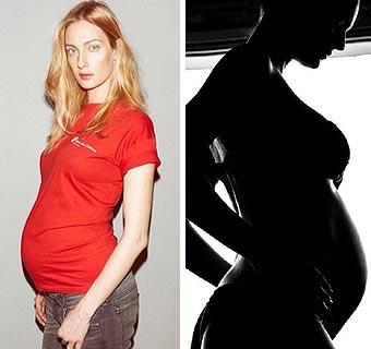 Modelos embarazadas: Fabiana Semprebom y Eva Riccobono serán mamás en 2014