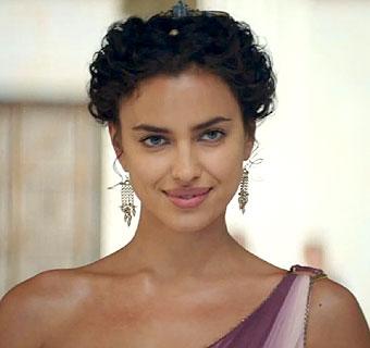 Irina Shayk se enamora de Hércules en su debut como actriz de cine