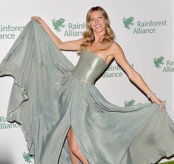 Gisele Bündchen, entusiasmada con la moda 'eco-friendly'