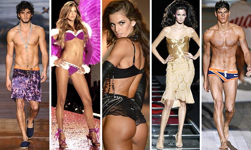 Modelos 'from Brasil': La sensualidad en estado puro
