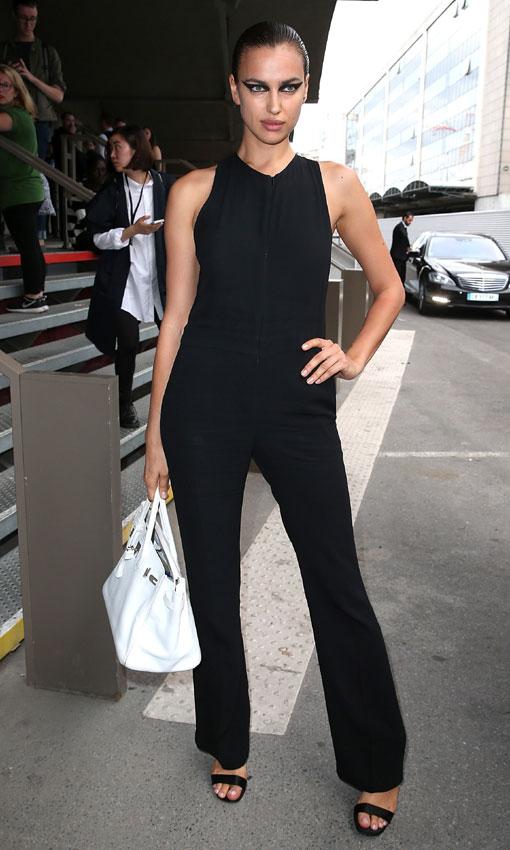 Duelo de bellezas en la Paris Men's Fashion Week con Irina Shayk, Adriana Lima y Candice Swanepoel